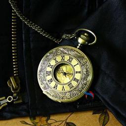 The Antique Metal Pocket Watch