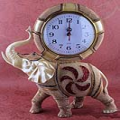 Elephant Desktop Clock