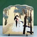 Chinese Painting Reproduction on Marble Slab