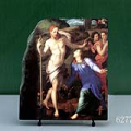 Noli me tangere by Agnolo Bronzino Oil Painting Reproduction on Marble Slab