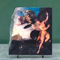 Perseus and Andromeda by Lemoyne Francois Oil Painting Reproduction on Slate